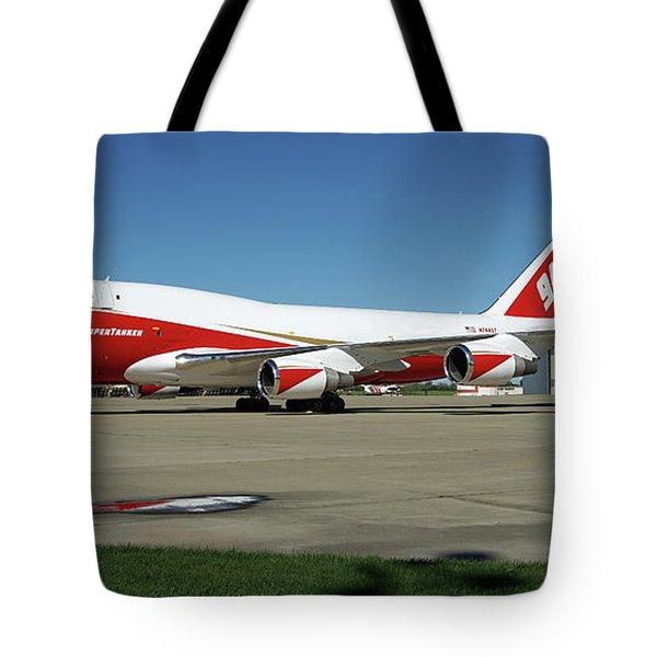 747 Supertanker Tote Bag