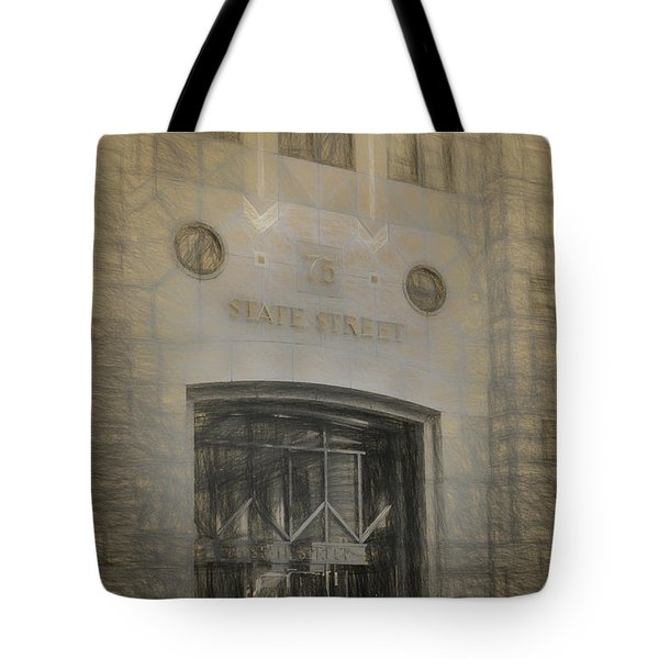75 State Street Tote Bag