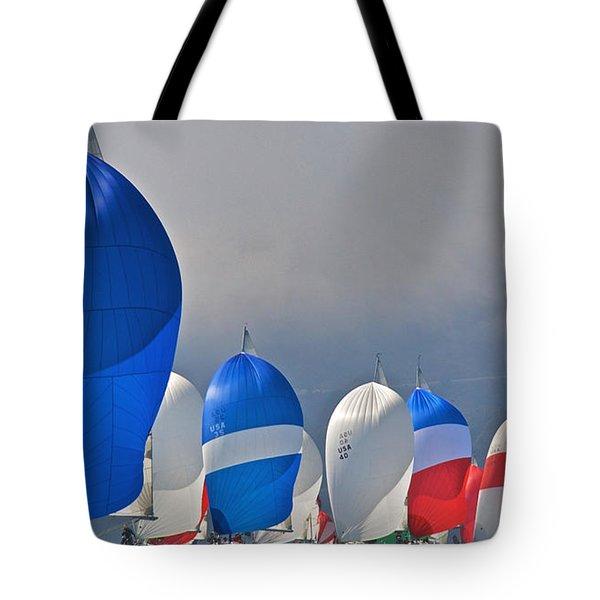 Bay Colors Tote Bag