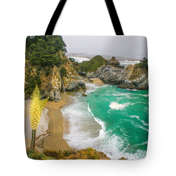 #7842 - Big Sur, California Tote Bag