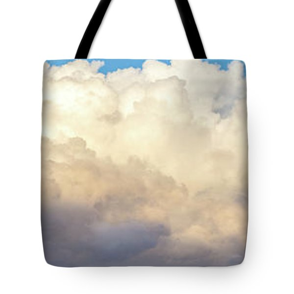 Tote Bag featuring the photograph Clouds by Les Cunliffe