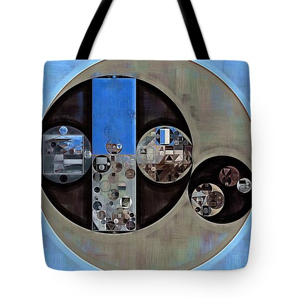 Abstract Painting - Onyx Tote Bag