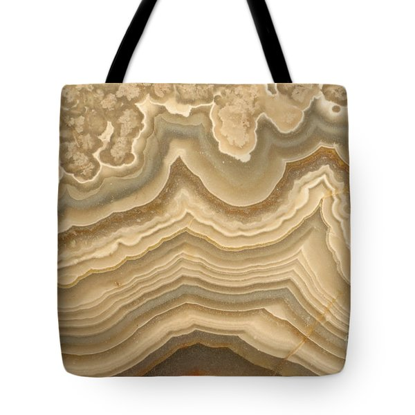 Agate Tote Bag by Ted Kinsman
