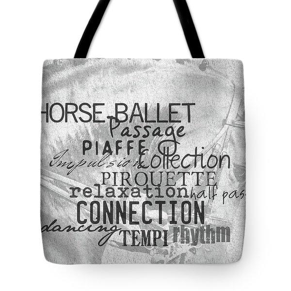 Be Equestrian Art Tote Bag