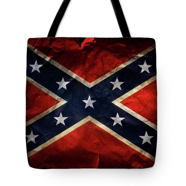 Confederate Flag Tote Bag