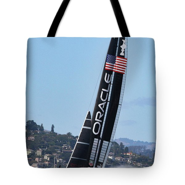 Once In San Francisco Tote Bag