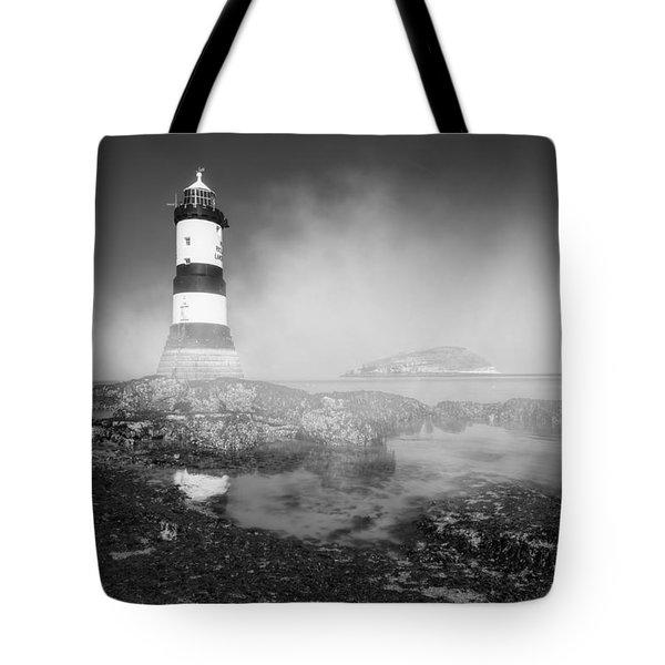 Penmon Lighthouse Tote Bag