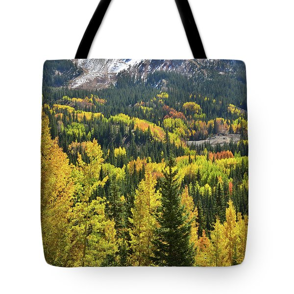 Tote Bag featuring the photograph Red Mountain Pass by Ray Mathis