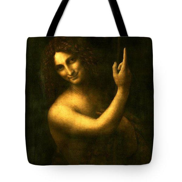 Saint John The Baptist Tote Bag