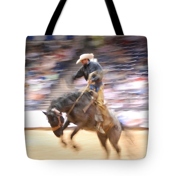 Tote Bag featuring the photograph 8 Seconds by Irina ArchAngelSkaya