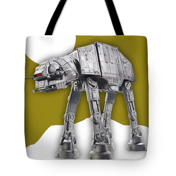 Star Wars At-at Collection Tote Bag by Marvin Blaine