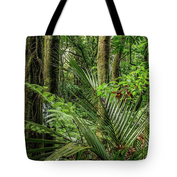 Tote Bag featuring the photograph Tropical Jungle by Les Cunliffe