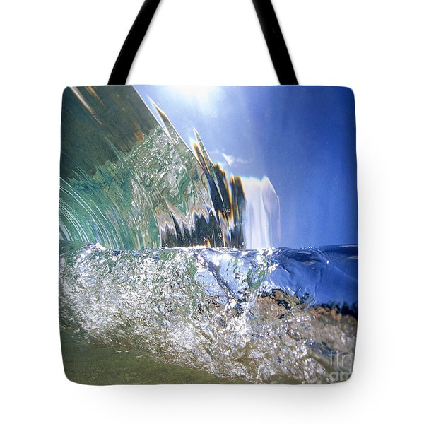 Underwater Wave Tote Bag by Vince Cavataio - Printscapes