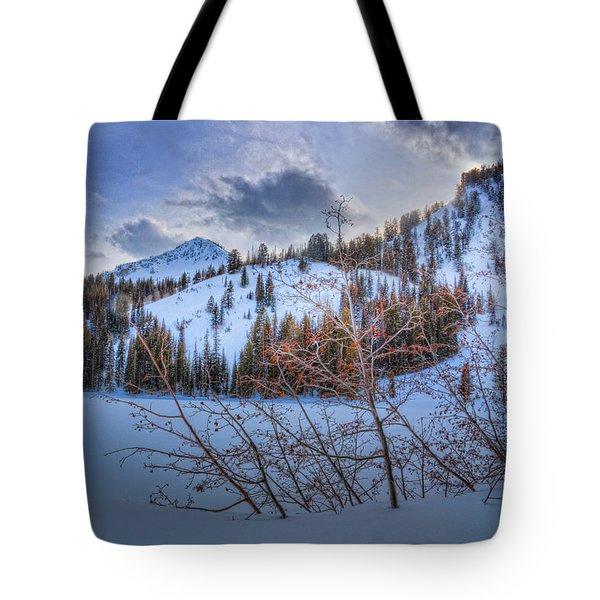 Wasatch Mountains In Winter Tote Bag