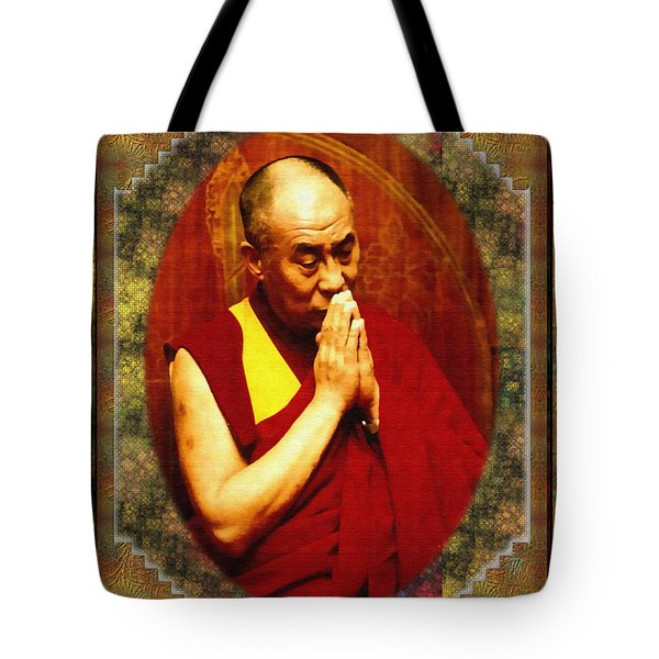 Tote Bag featuring the photograph 80 Years Of Contemplation by Mario Carini