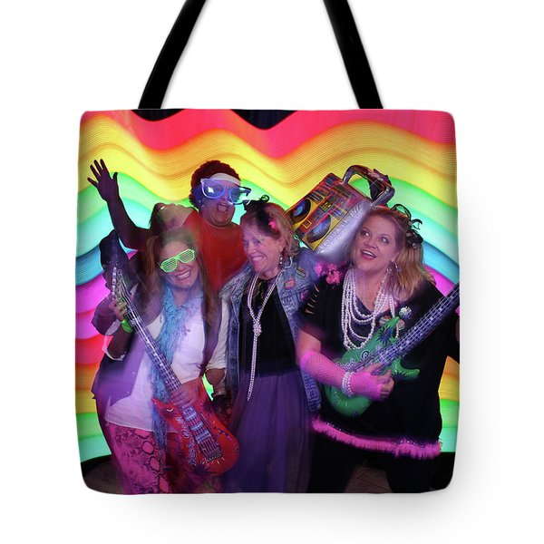 80's Dance Party At Sterling Event Center Tote Bag