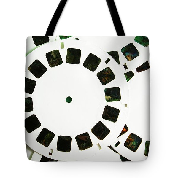 80s Toy Slide Show Fun Tote Bag