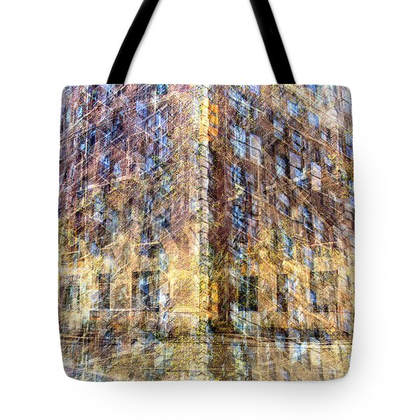 83rd And Park Collage Tote Bag