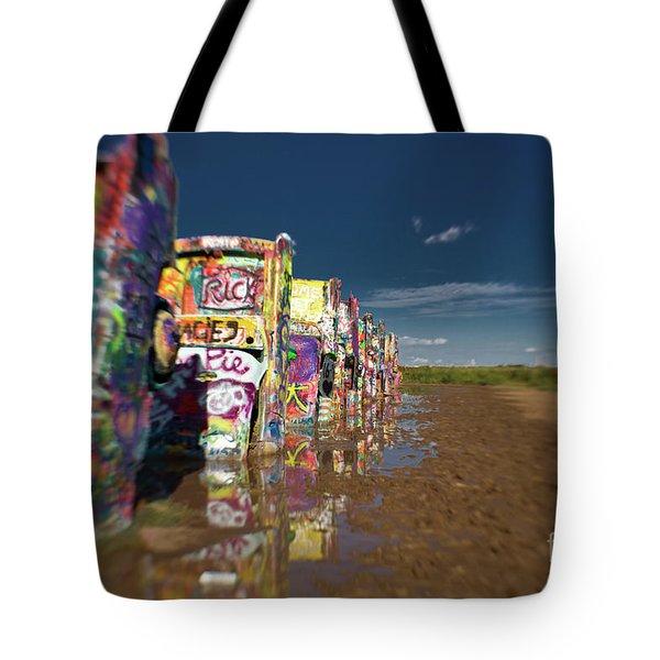 Texas 66 Tote Bag