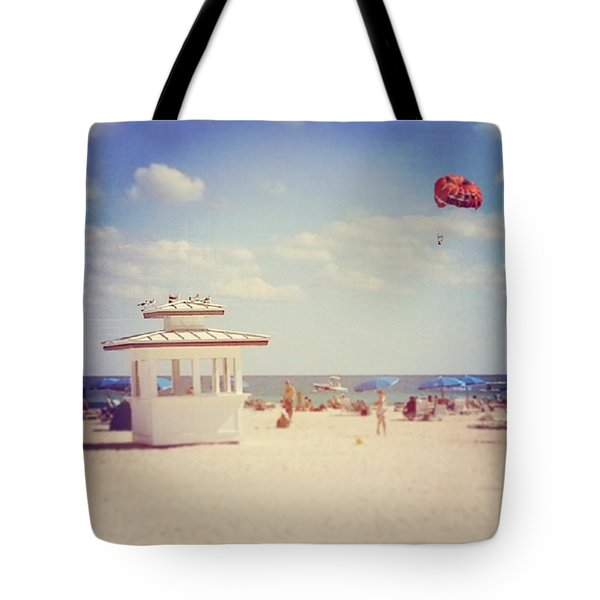 Just Another Day In South Beach Tote Bag