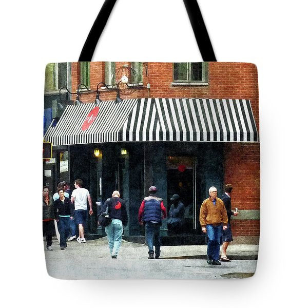 8th Ave. And W 22nd Street Chelsea Tote Bag by Susan Savad