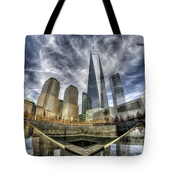 9/11 Memorial - Nyc Tote Bag