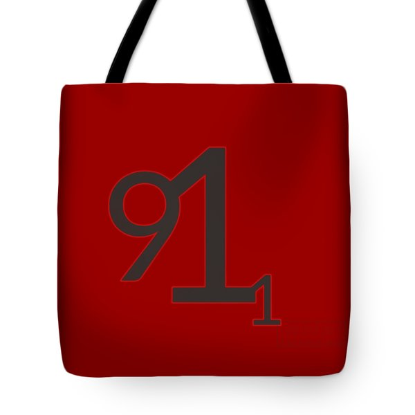 Tote Bag featuring the mixed media 9 11 by TortureLord Art