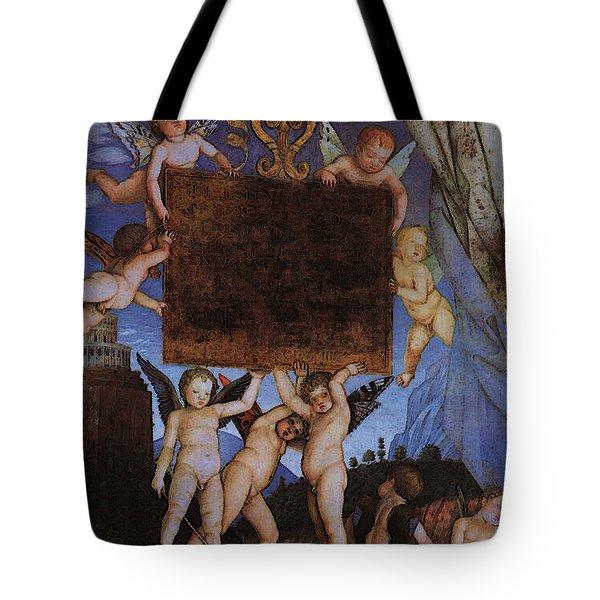 Andrea Mantegna Tote Bag