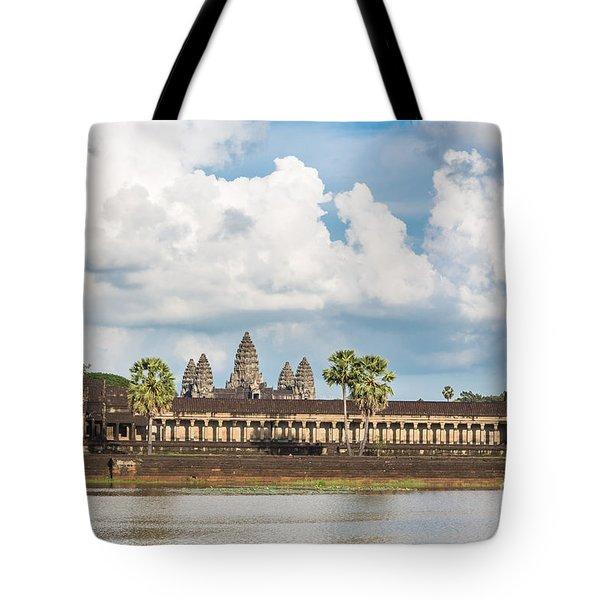 Angkor Wat In Cambodia Tote Bag