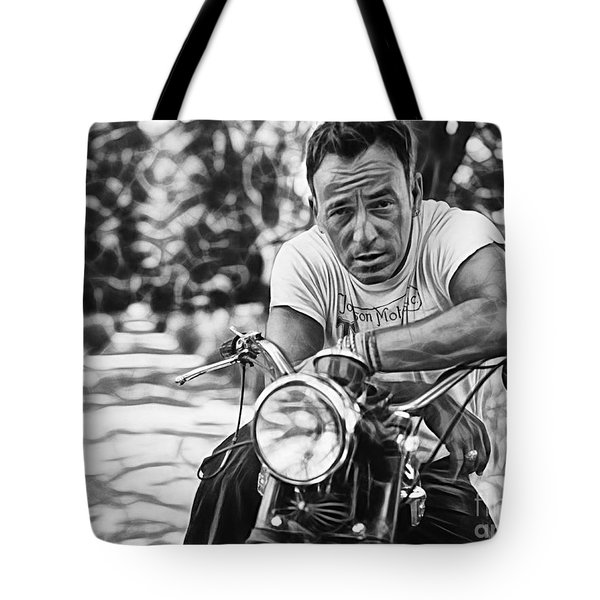 Bruce Springsteen Collection Tote Bag