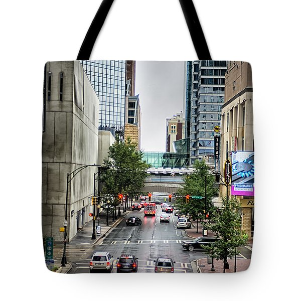 Charlotte North Carolina Views Around  Downtown Tote Bag