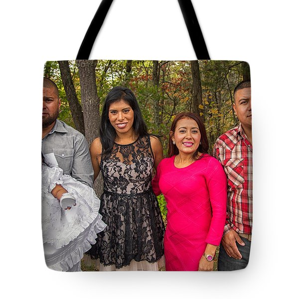 Cruz Baptism Tote Bag
