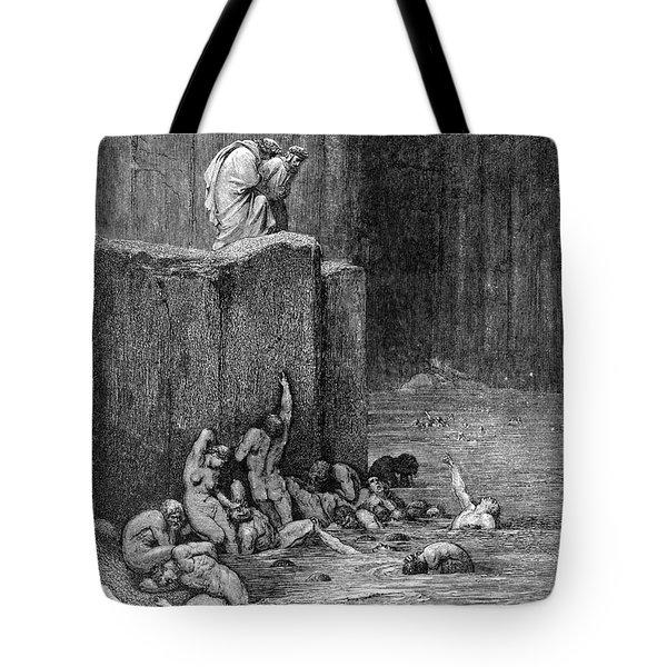 Dante: Inferno Tote Bag by Granger