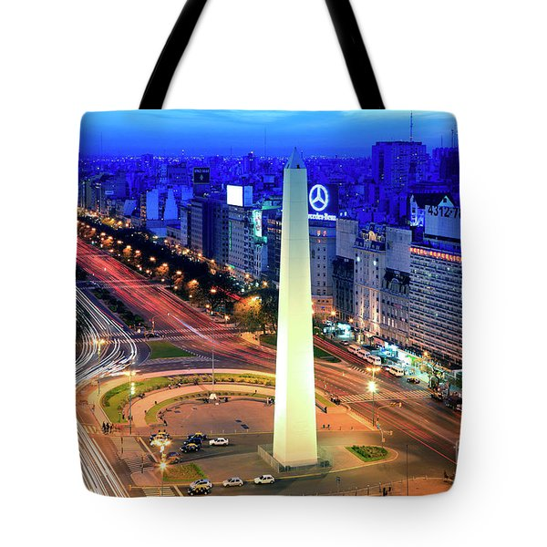 9 De Julio Avenue Tote Bag