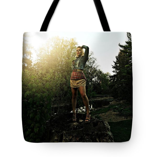 Divinely Dangerous Tote Bag