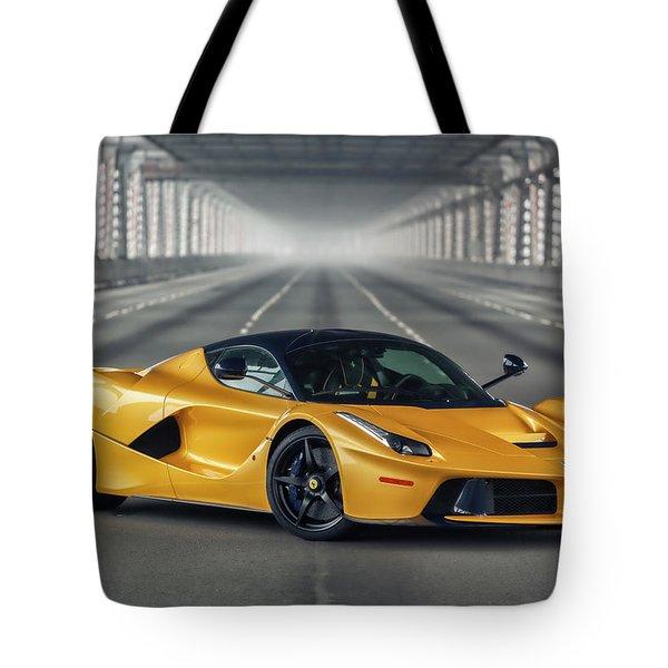 #ferrari #laferrari Tote Bag