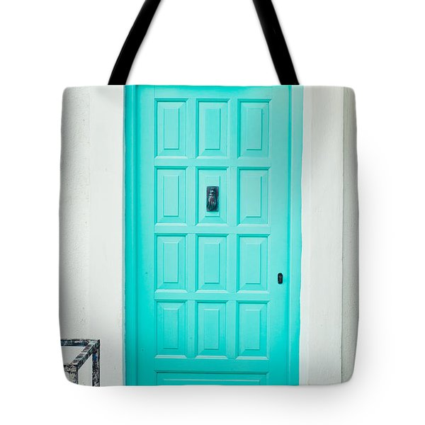 Front Door Tote Bag by Tom Gowanlock