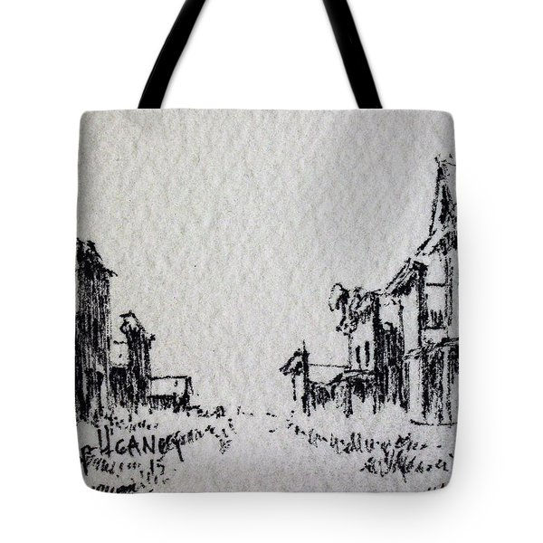 Ghost Town Tote Bag by Kevin Heaney