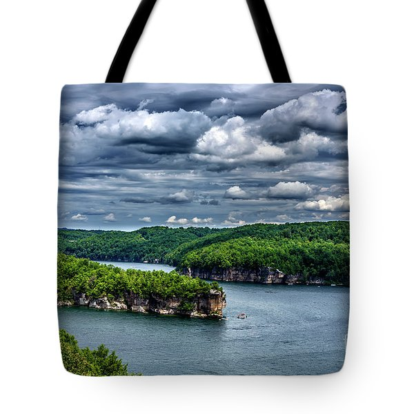 Long Point Summersville Lake Tote Bag