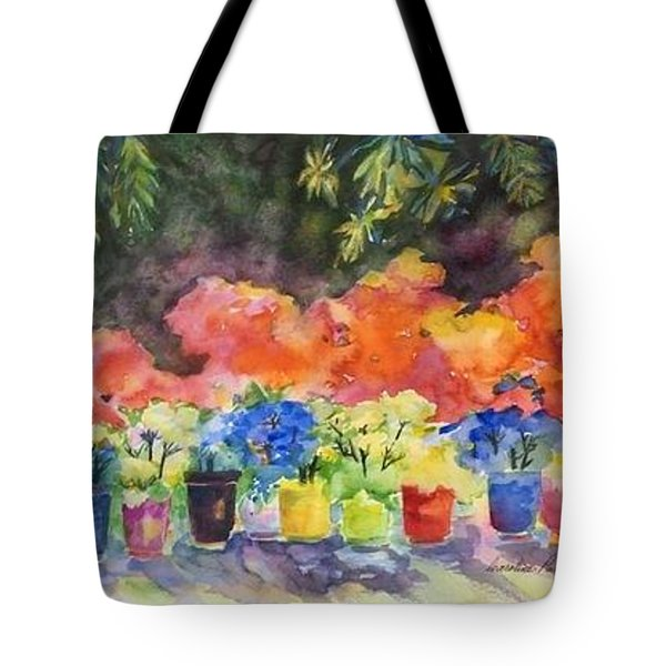 9 Lucky Plants Tote Bag