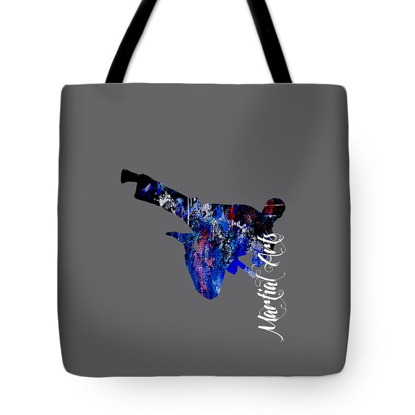 Martial Arts Collection Tote Bag