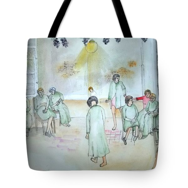 Mental Illness Hurts Album Tote Bag