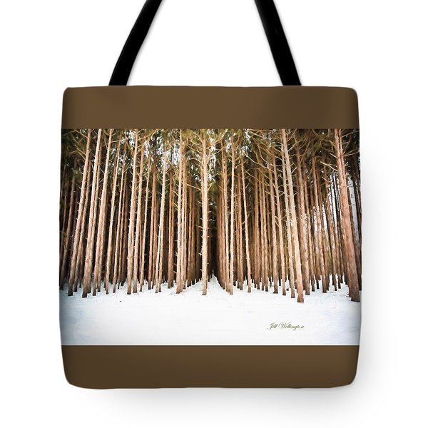 Michigan Winter Tote Bag