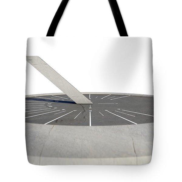 Modern Sundial Tote Bag