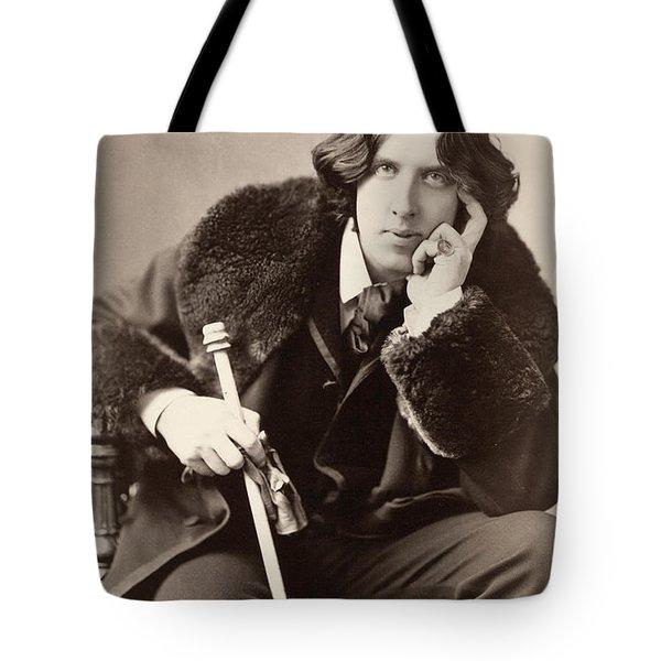 Oscar Wilde (1854-1900) Tote Bag by Granger