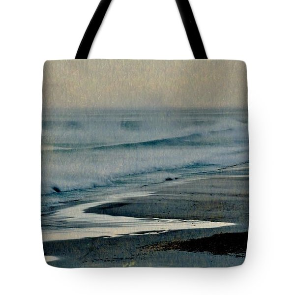 Stormy Morning At The Sea Tote Bag by Werner Lehmann