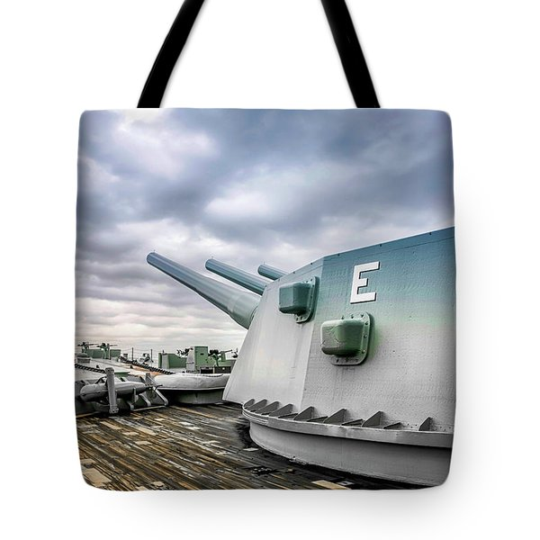 Uss Alabama Tote Bag