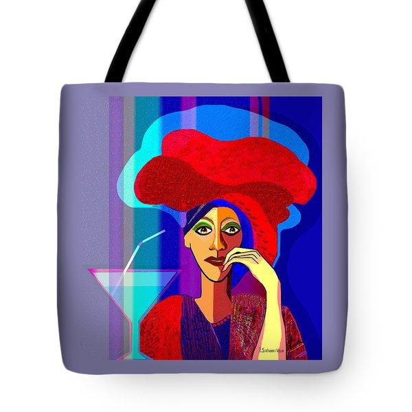 909 -   Summer   Cocktail Tote Bag
