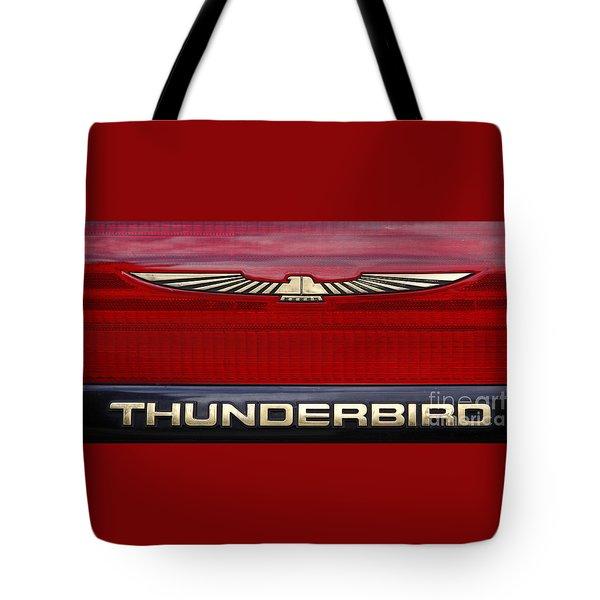 90s Thunderbird Tote Bag