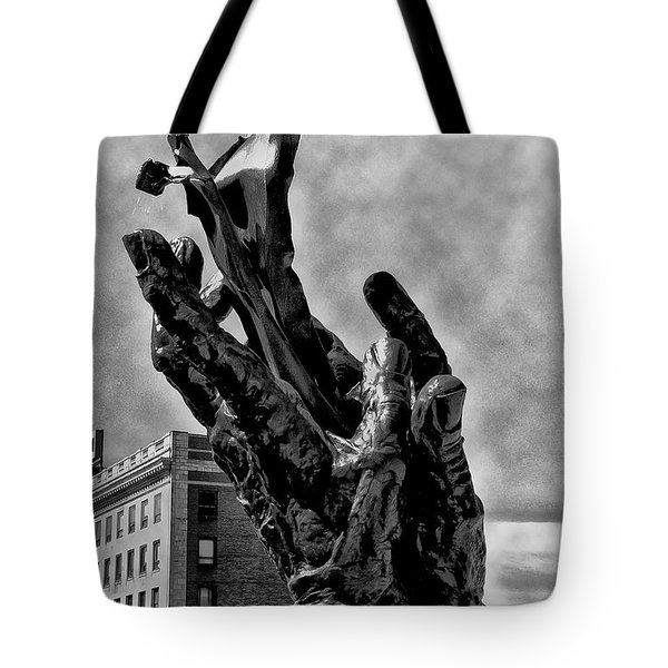 911 Memorial - Norristown Tote Bag by Bill Cannon